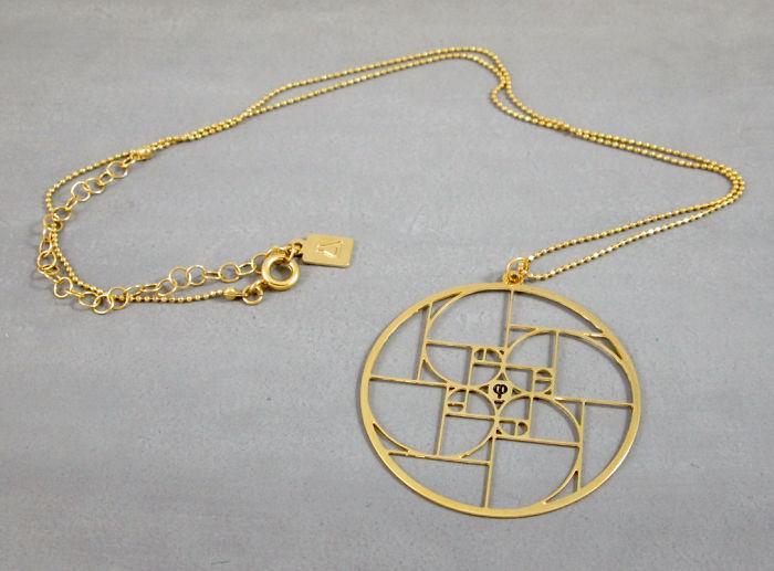Golden Spiral In A Circle, Fibonacci Spiral