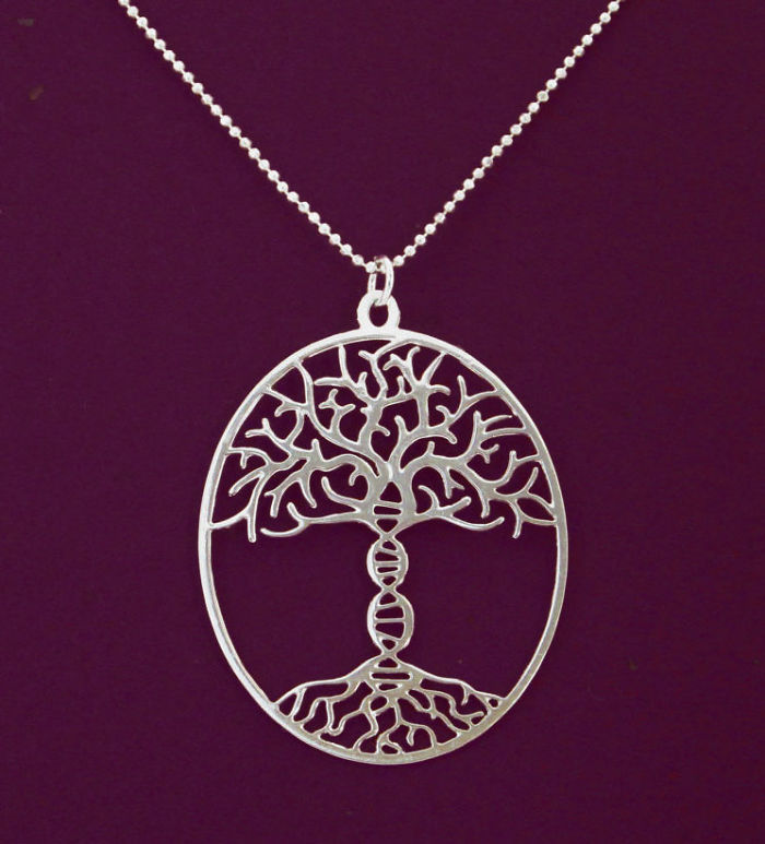 Tree Of Life With A Dna Trunk