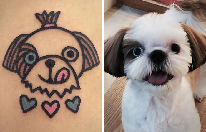 South Korean Tattoo Artist Turns Your Pets  Into Pawsome Tattoos
