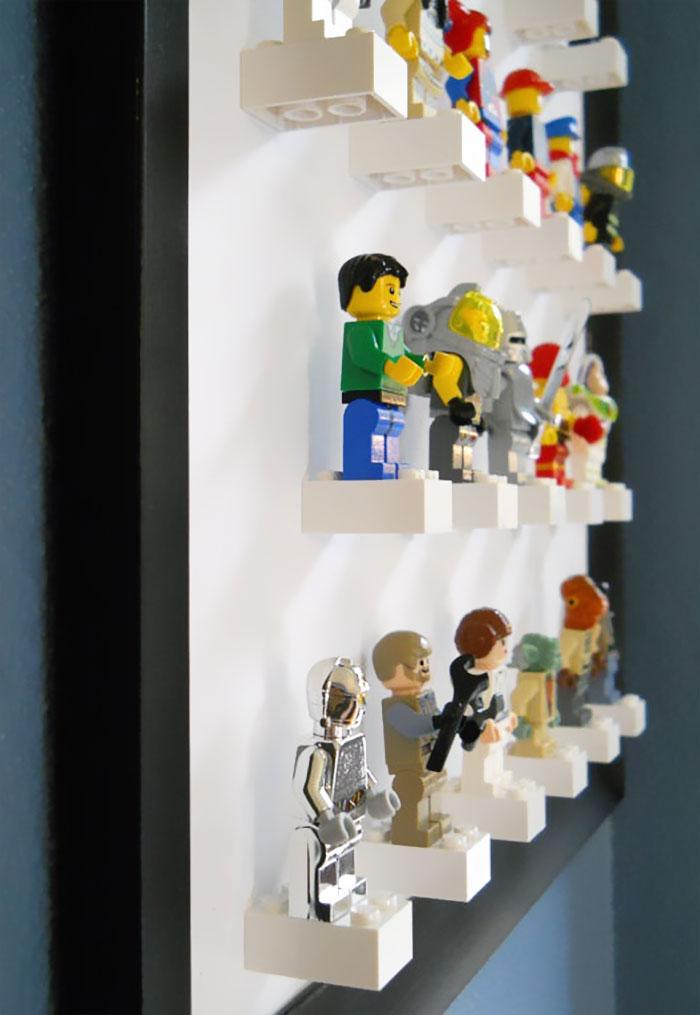 Minifigure Display Art