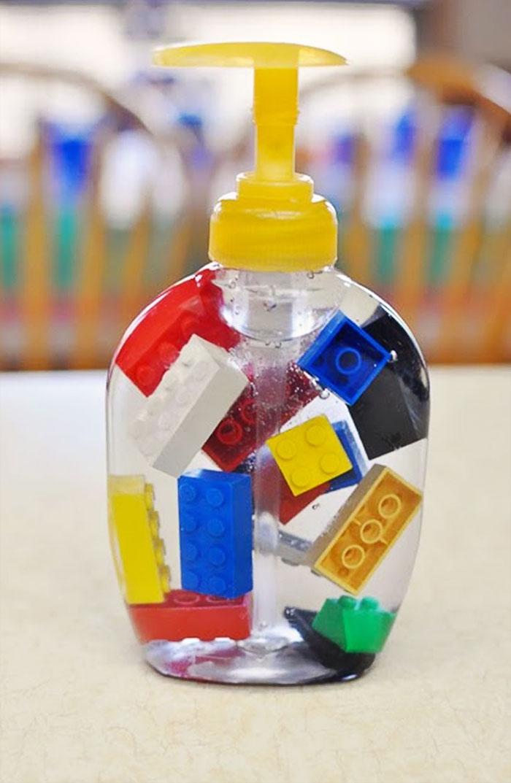 Lego Soap Dispenser