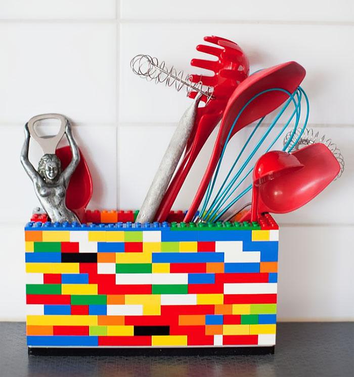 Lego Utensil Holder
