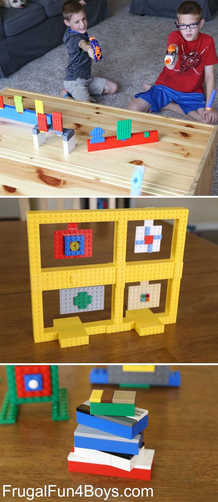 Lego Nerf Targets