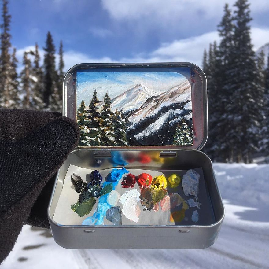Altoids Tin Paintings