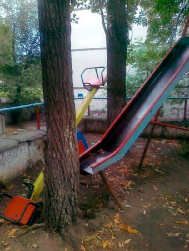 Children-Friendly Slide