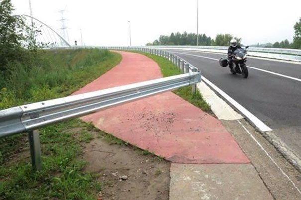 This Bike Lane Looks Legit