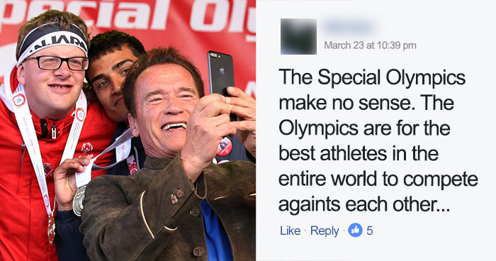 Arnold Schwarzenegger Brutally Destroys Troll Who Mocked Special Olympics, Wins The Internet