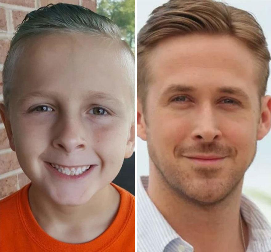 My Son Cohen Looms Like Ryan Gosling.