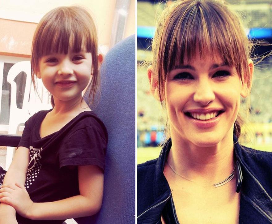 My Girl Daria Looks Like Jennifer Garner