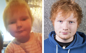 This 2-Year-Old Girl Looks Exactly Like Ed Sheeran! See 10+ More Babies Who Look Like Celebrities