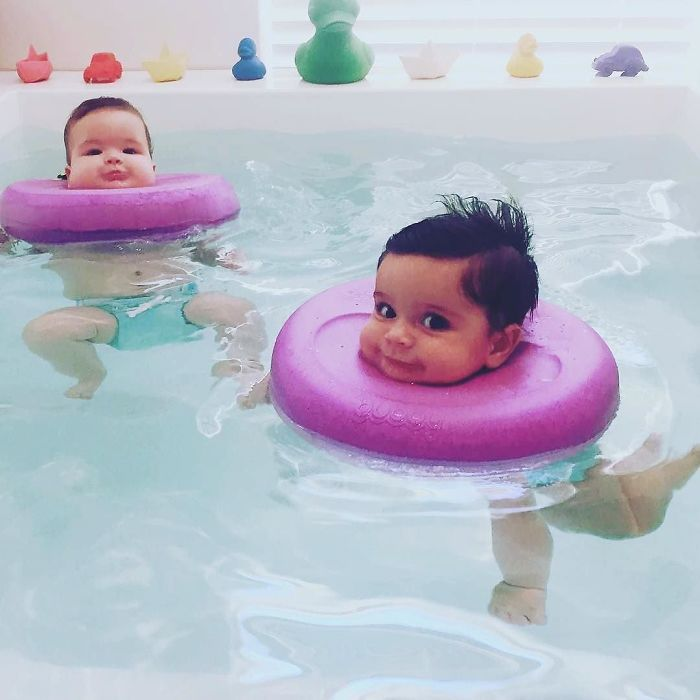 People Can\'t Handle How Cute These Baby Spa Photos Are | Bored Panda