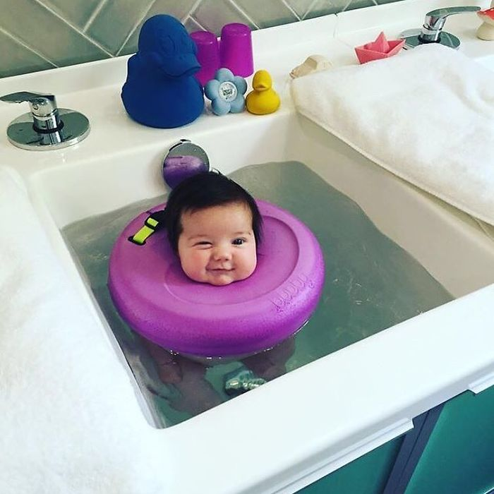 People Can T Handle How Cute These Baby Spa Photos Are Bored Panda