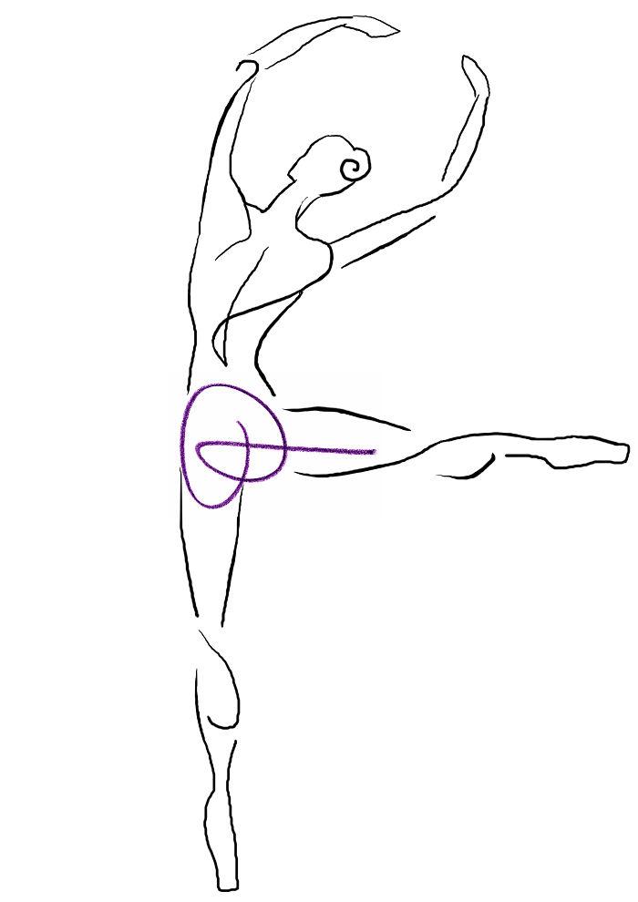Ballerina Doodle :d