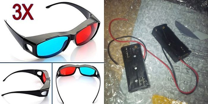 These 3d Glasses I Ordered Really Hurt My Eyes