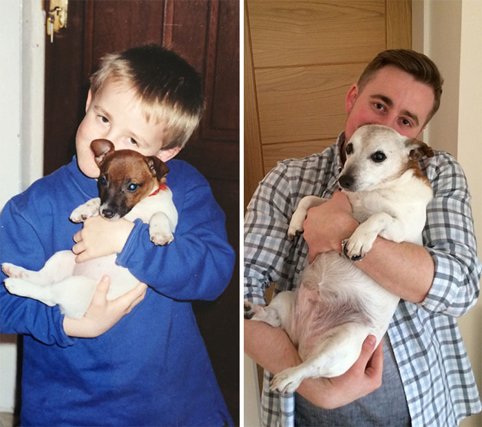 Mi perro y yo 15 años después