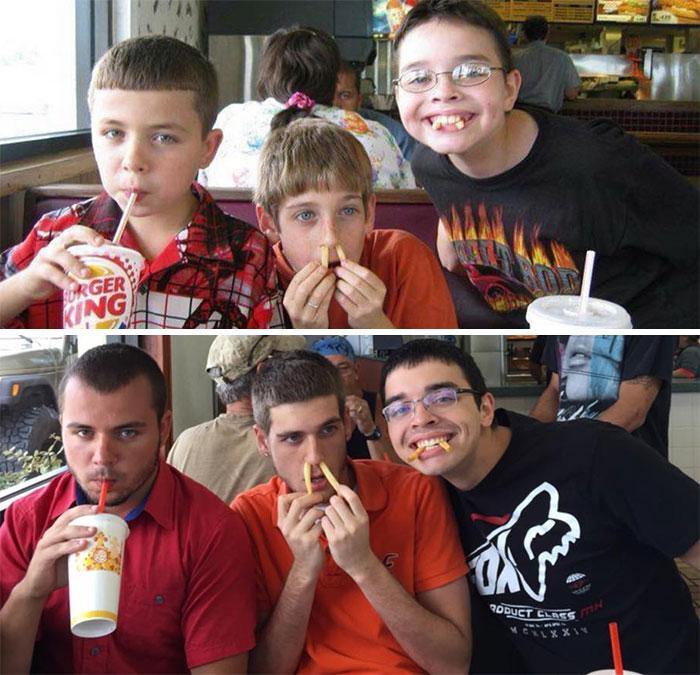 11 años después sigue sin gustarme Burger King y mis únicos amigos son muy raros
