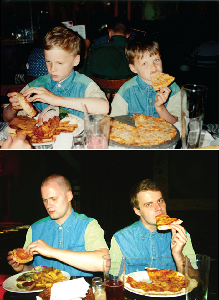 Pizza And Burger 18 Years Later