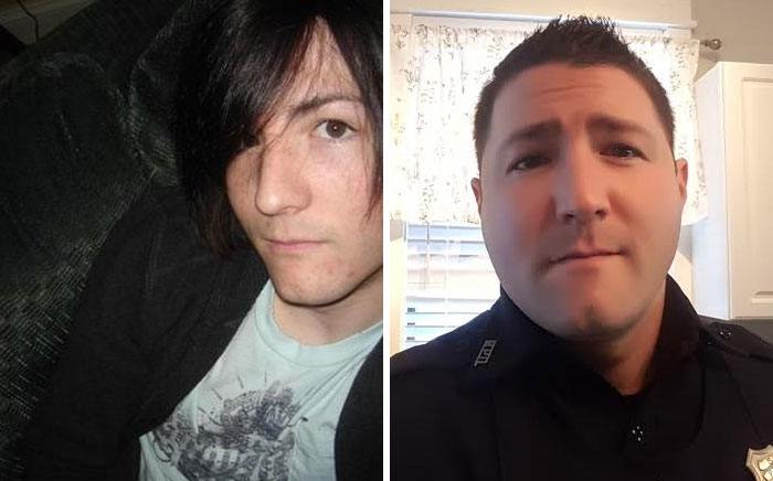 I Became The Police. I Also Now Send Couple Christmas Cards. 2007 And 2015