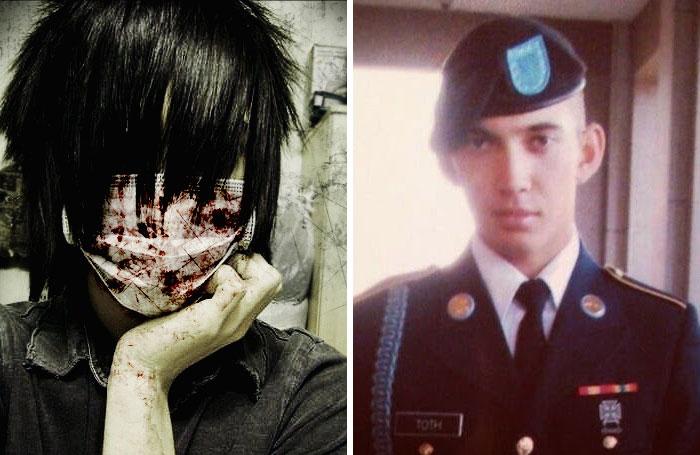Después de esta foto, me metí en el ejército y ahora estudio seguridad internacional