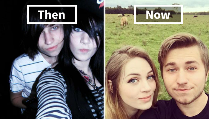 10+ Before & After Pics Of Rebellious Teenagers