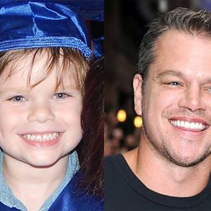 Does My Grandson Look Like Matt Damon Or Is It Just Me?
