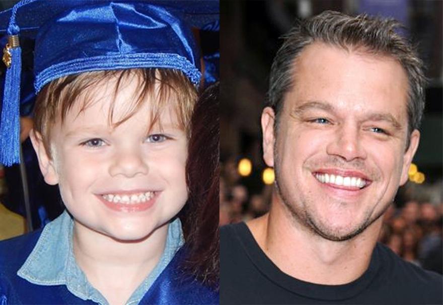 Does My Grandson Look Like Matt Damon Or Is It Just Me?