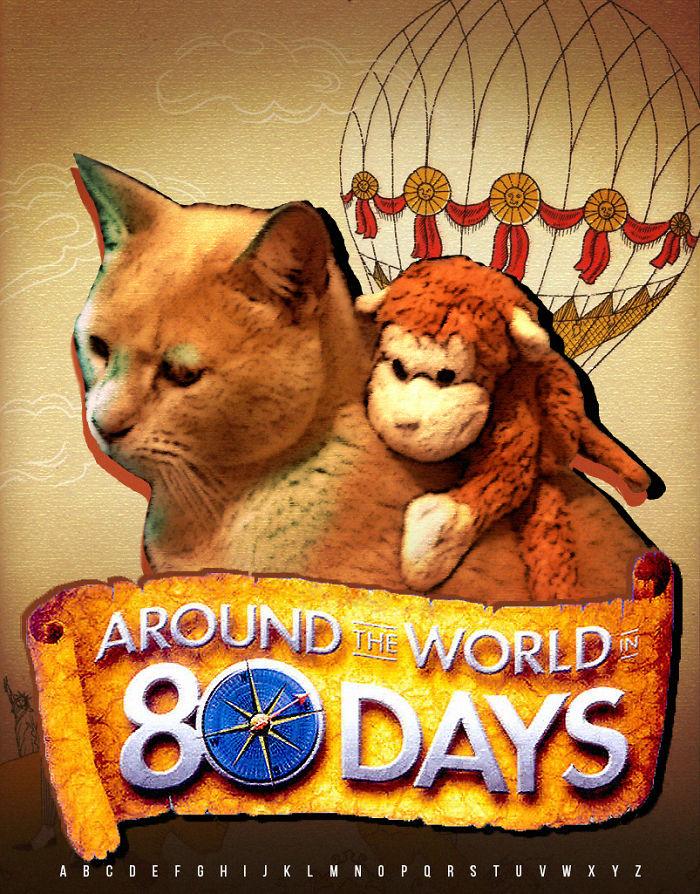Around The World In 80 Days.
