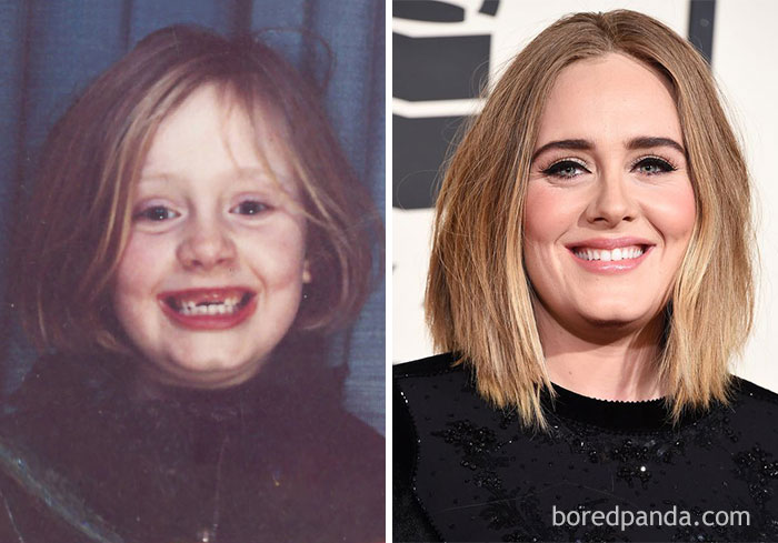 32 Unrecognisable Photos Of Celebrities As Children