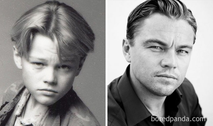 Rare Celebrity Childhood Photos Show Barely Recognizable Stars - 42 rarely seen photographs famous celebrities
