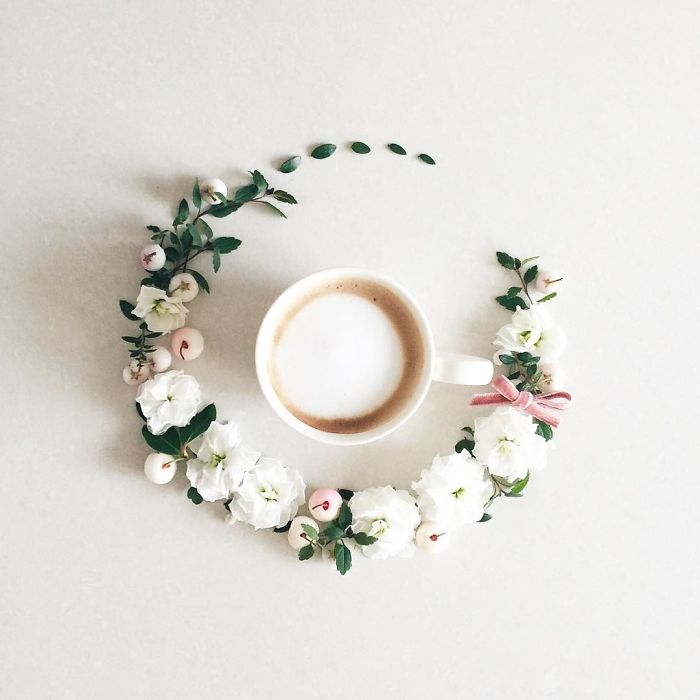 1920x1080 creative coffee flower - photo #16
