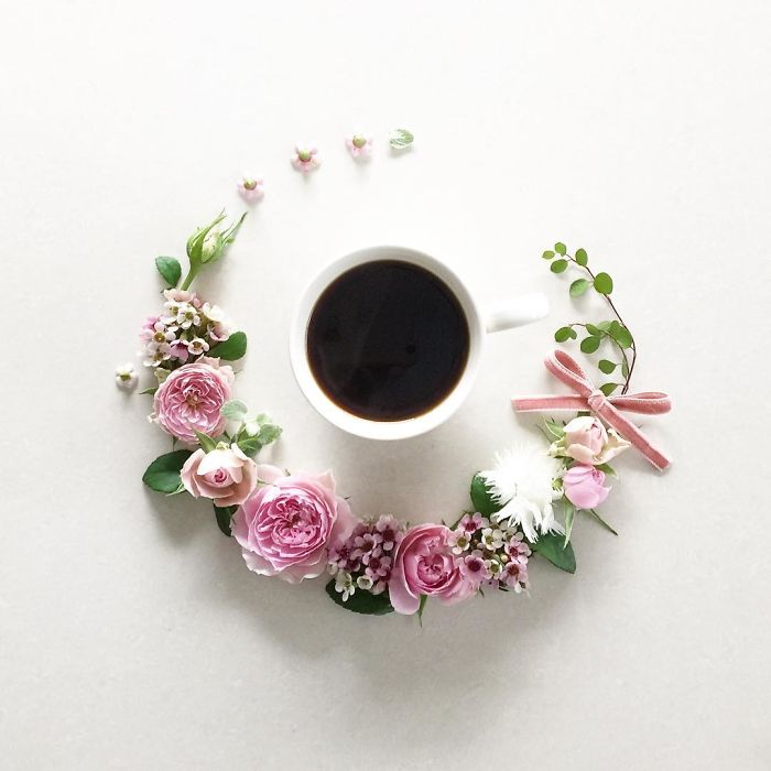 1920x1080 creative coffee flower - photo #18