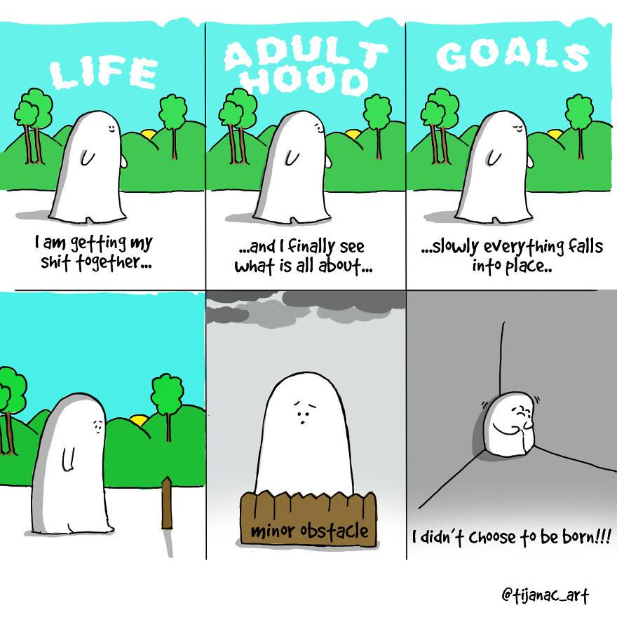 Life As A Beautiful Struggle Depicted In Short Comics
