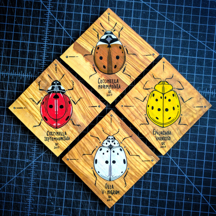 I Paint Insects On Cutting Boards