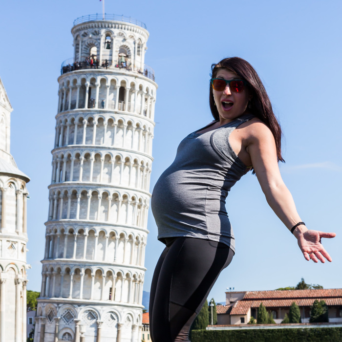 I'm Documenting My Wife's Growing Baby Bump As We Travel Around The World