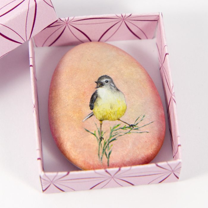 I Create Miniature Worlds Of Tiny Creatures On Stones (Part 2)