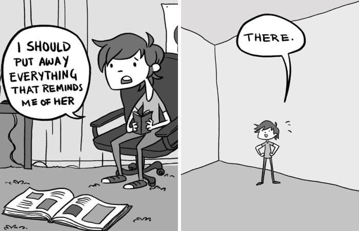 58 Comics That Show My Life After I Broke Up With My Girlfriend