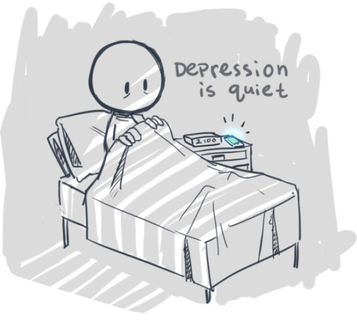 What It's Like To Be Dealing With Depression
