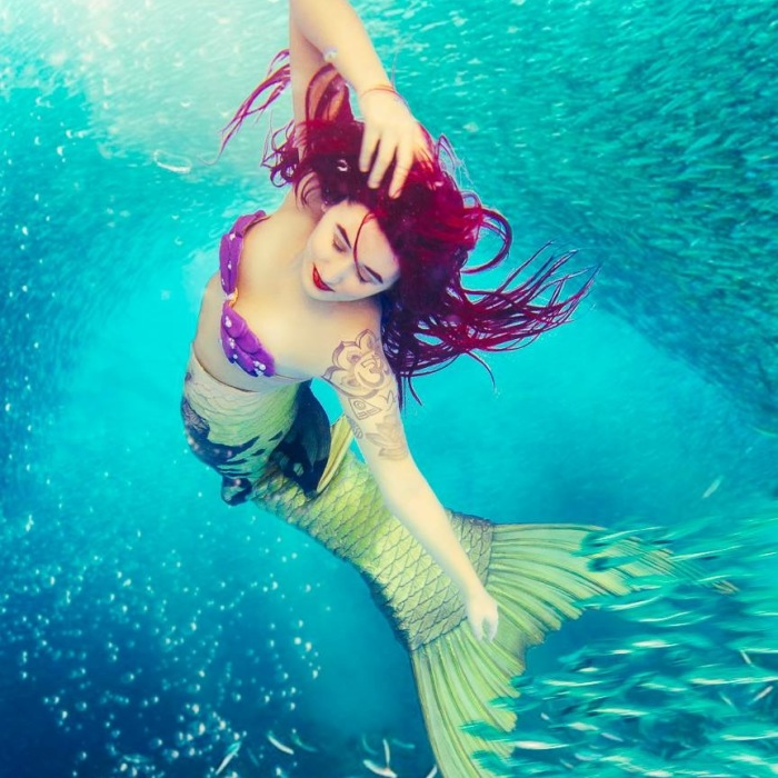 Over 300 People Gather To An International Mermaid Convention