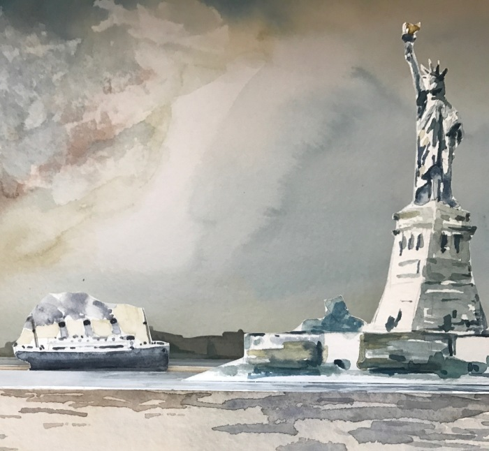 Painting To Support Immigrants' Rights