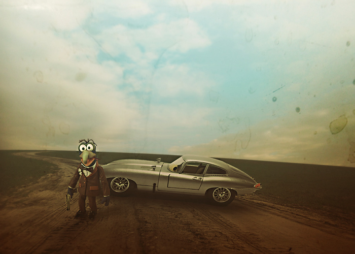 I Rescue Beautiful Old Cars From Being Forgotten Using Digital Art