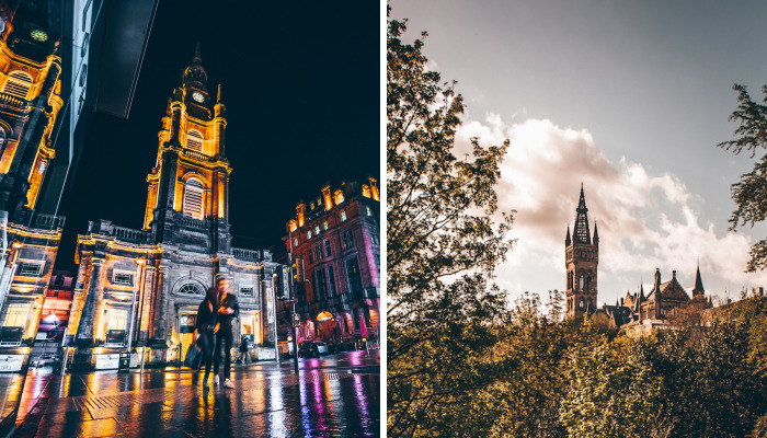 I Was Wandering Around The City Of Glasgow