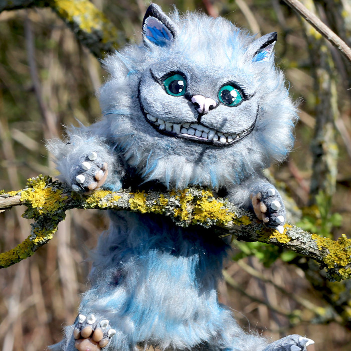 I Created A Chester The Cheshire Cat Art Doll