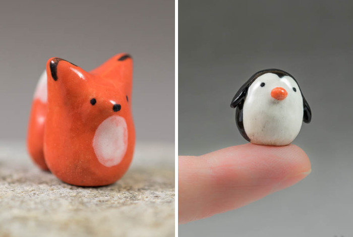 I Sculpt Tiny Minimalist Animals With A Touch Of Whimsy