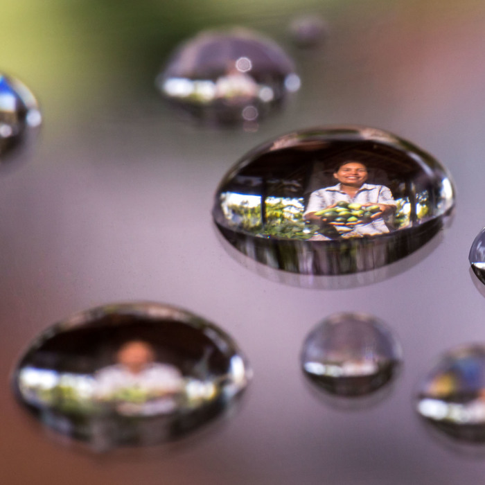 I Captured People Inside Tiny Water Droplets To Mark World Water Day