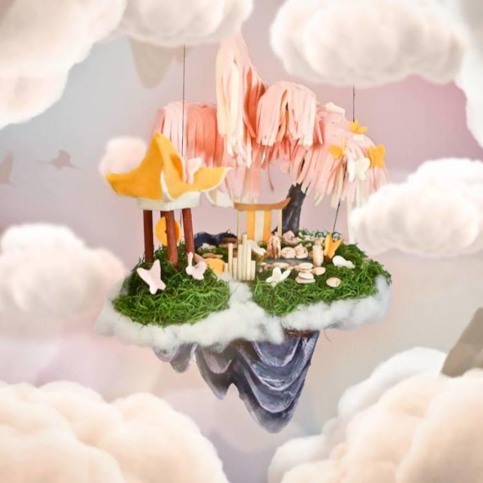 I Designed Themed Floating Islands