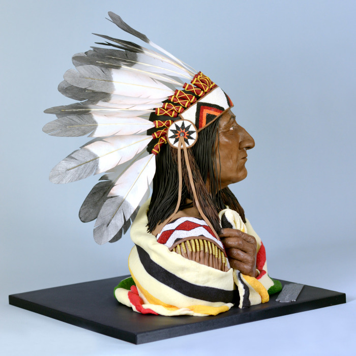 It Took Me Over 3 Weeks To Make This Chief Crowfoot Cake