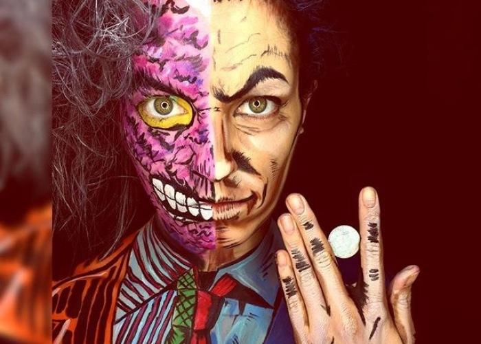 Superhero And Villain Facepaint Creations