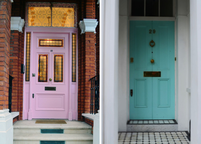 I Photographed Door In London In (Almost) All Colors