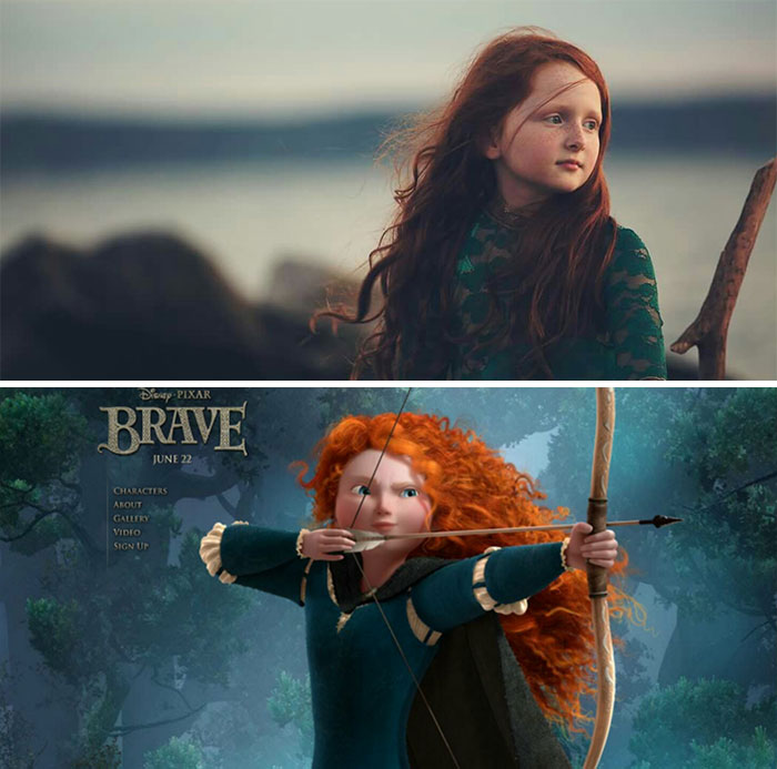 My Daughter Izzy Looks Like Merida From Brave