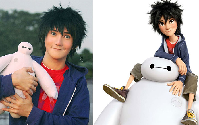 This Person Looks Like Hiro Hamada From Big Hero 6